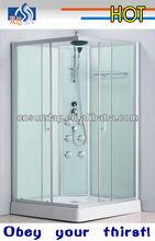 new design aluminum square shower room