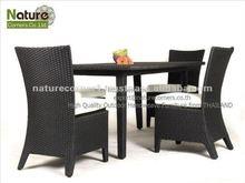 Handmade Outdoor Garden Rattan Wicker Dining Furniture