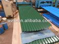 /ppgi de acero galvanizado prepintado bobinas/color corrugado para techos hojas/de metal de material de construcción