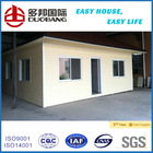 houses prefabricated homes with PVC cladding wall