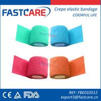 CE gauze medical crepe bandage size