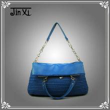 2013 new fashion pu leather ladies handbag tote handbag shoulder bag
