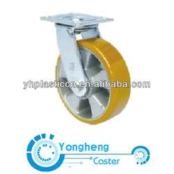 aluminum trolley caster wheel