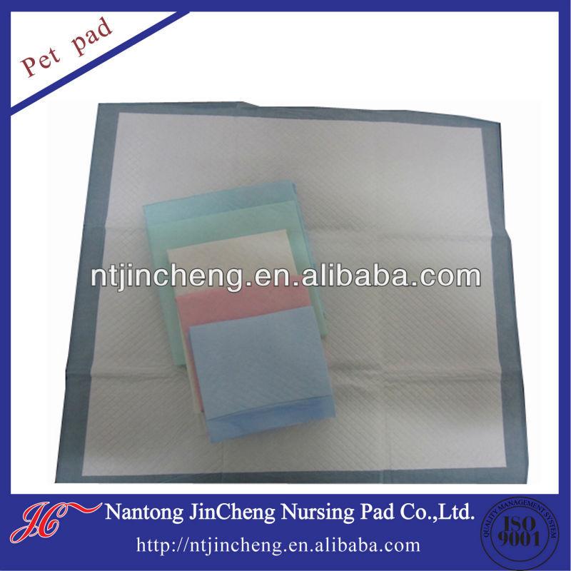 high absorbent disposable dog waterproof puppy pet mat