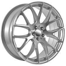 """2012 20"""" Inch Jaguar S Type XK XJ XF Silver Machined Wheels Rims"""