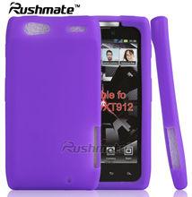 Purple Cover For Motorola Droid Razr XT910/XT912 Silicone case