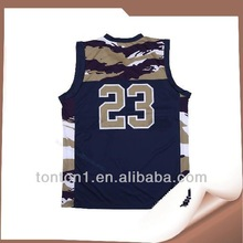 sublimation youth basketball jersey top