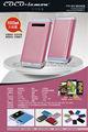 最新の異なる色2013mp3プレイヤー充電器ポータブルpowerbankタッチスイッチ