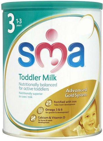 Sma Gold Toddler Milk Powder 1-3yrs (900g)
