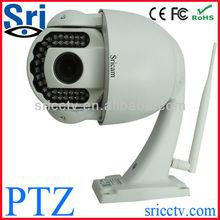Sricctv CCTV IP Camera Wireless Remote Monitor PTZ Waterproof Outdoor Disposable waterproof digital camera