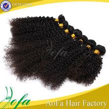 AVIVA mongolian kinky curly weaves passion hair good thick hair weaving