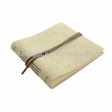 handmade leather photo albums, beige elegant design holder book