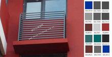 Decorative Construction Iron Window Grille Design(BSL-KB2)