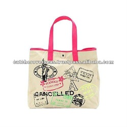 Cute Cotton Beach Bags