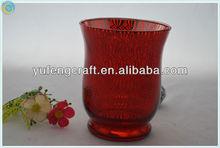 wedding tealight holder,glass jar with lid,tealight glass