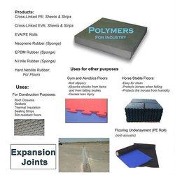 Rubber / Eva / Pe construction concrete metal filler