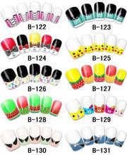 2013new nail transfer nail sticker