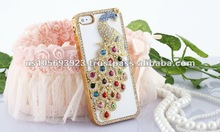 IMPRUE Shinning Luxury Crystal Bling Diamond leather Case For Iphone5