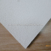 Acoustic Mineral Wool Board/mineral fiber ceiling board 600*600*12mm fine textue/sandy