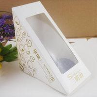 Ecofrindly cardboard box for sandwich