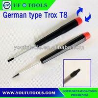 Repair Tool Kit Precision ScrewDriver,German type Trox T8 ScrewDriver
