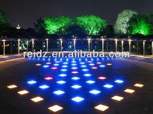 night club decor waterproof DVI control video led video dance floor