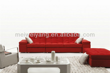 WOCHE wood foam fabric fashion furniture comfortable sofa,new design velvet sofa fabric WQ8970