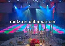 night club decor waterproof DVI control led dance floor lights