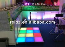 night club decor waterproof DVI control led screen dance floor