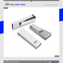 Corporate gift USB memory stick, Book clip Tie clip USB flash drive, 16GB USB drives
