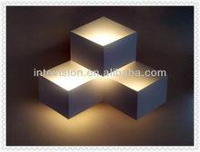 modern decorative lighted wall art
