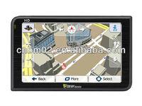 Hot sell 5'' Car GPS Navigator, 128MB RAM, built-in 8G/Bluetooth/AVIN, European and Australian free map