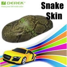 Derek Snake Skin Car Wrap Vinyl Film For Car Body 1.52*30m--Factory Directly
