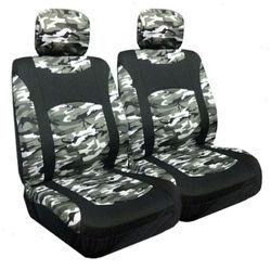Snow Camo Air Bag Compatible Seat Cover