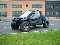 Gazelle electric ATV, buggy road legal
