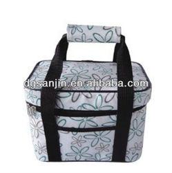 fashion full printing cooler bag