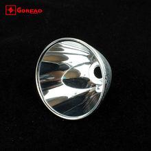 Goread C8 aluminum led flashlight reflector