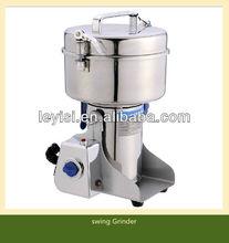 stainless steel Herb muller,Herbs swing Grinder Machine, corn Grinder 500G