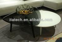 modern glass tea table,russian table setting