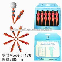 Popular Golf Model Tee , female or male style , beautiful fruit tee