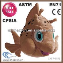 10 cm small stuffed plush toy fish