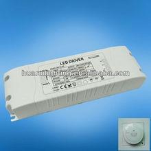 triac 60w 1500ma constant current led driver,ac dc led transformer