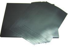 Black flexible adhesive magnet sheet