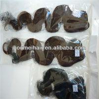 China 2013fashional& high quality virgin brazilian hair natural black