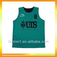 customized design sublimation basketball jersey