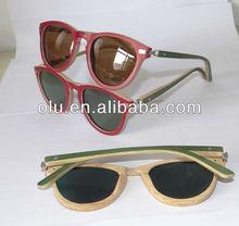 2013 fashion bamboo eyewear, natural bamboo sunglasses