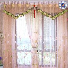 z organza fashion fleece curtain fabric valance kitchen curtain