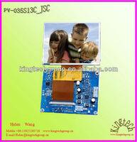 tft lcd display 3.5inch 320X240 control board key button adjusting