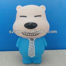 decorate plastic vinyl piggy bank,vinyl novelty plastic piggy banks,paintable vinyl plastic piggy bank