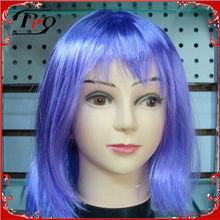 carnival purple pizazz costume wigs